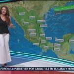 El clima con Mayte Carranco del 7 de enero de 2019