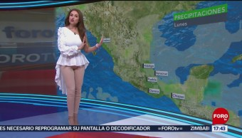 El clima, con Mayte Carranco,14 enero del 2019