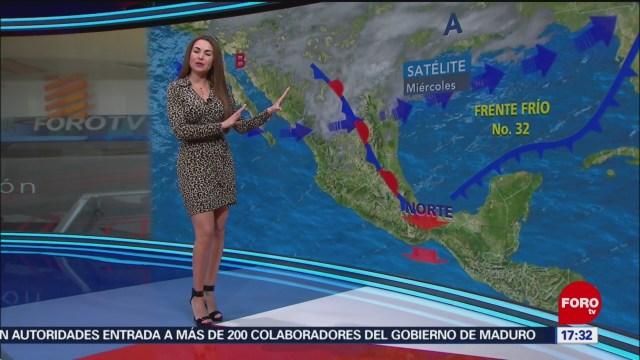 Foto: El Clima Mayte Carranco 30 de Enero 2019