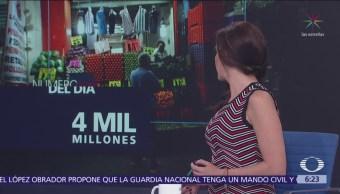 El número del día: 4 mil millones