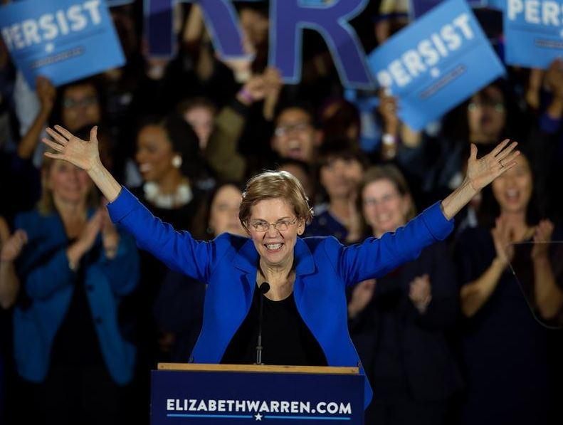 Elizabeth Warren se postulará a elecciones en EU en 2020