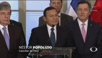 México se abstiene de firmar declaración del Grupo de Lima