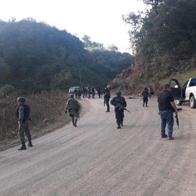 Enfrentamiento entre policías comunitarios deja 10 muertos en Chilapa, Guerrero