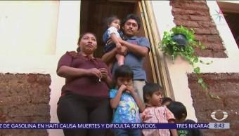 Entregan primera casa construida con sargazo en Cancún