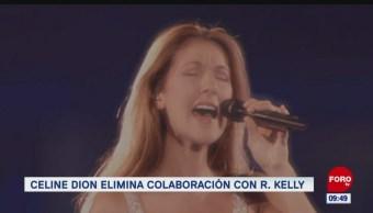 #EspectáculosenExpreso: Celine Dion elimina colaboración con R. Kelly