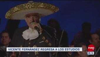 #EspectáculosenExpreso: Vicente Fernández regresa a los estudios