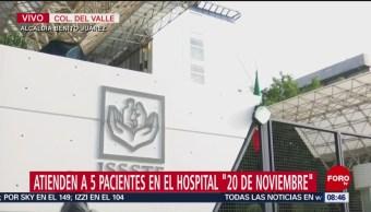 Estados de salud de los heridos por explosión en Tlahuelilpan