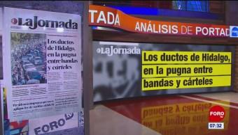 Análisis de las portadas nacionales e internacionales del 22 de enero del 2019