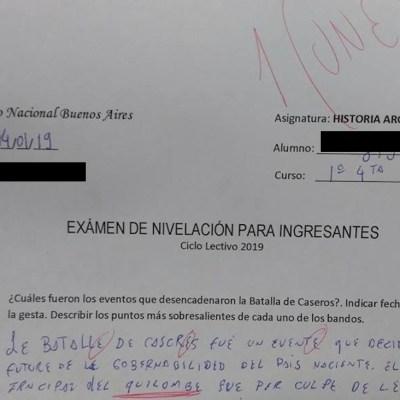 Estudiante contesta con lenguaje inclusivo un examen que se hace viral
