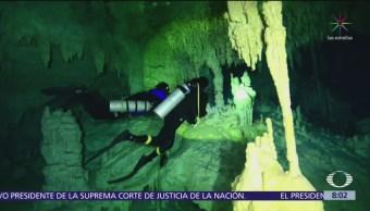 Experto realiza mapa de ríos subterráneos de la Península de Yucatán