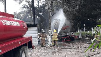Explosión por almacenamiento ilegal de combustible en Tabasco