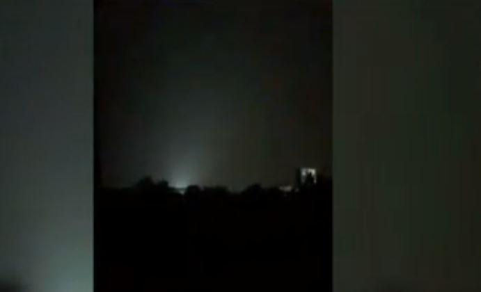 xplosión de transformadores ilumina cielo de la CDMX