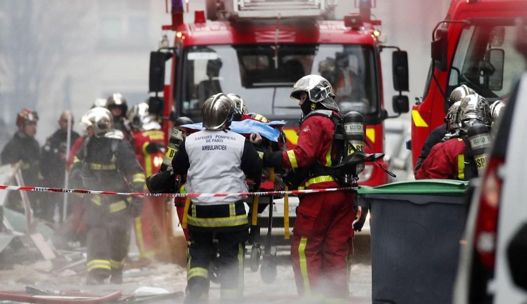Explosión en París deja al menos dos muertos y varios herido