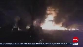 Explota Ducto De Combustible En Hidalgo