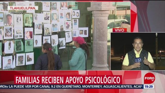 FOTO: Familias Reciben Apoyo Psicológico En Tlahuelilpan, Hidalgo, Apoyo Psicológico, Tlahuelilpan, Hidalgo, Explosión De Un Ducto De Pemex, 100 Muertos, Ayuda Psicológica, 26 enero 2019