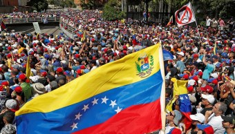 Foto: Miles de venezolanos marchan por las calles de Caracas el 23 de enero del 2019.