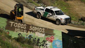 Foto: Una camioneta de la Patrulla Fronteriza de Estados Unidos vigila la frontera con Tijuana el 19 de enero del 2019