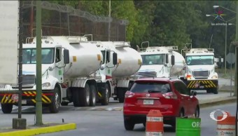 Gasolina Llega Terminal Azcapotzalco Surtir CDMX