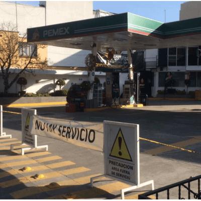 Desabasto de combustible llega a CDMX