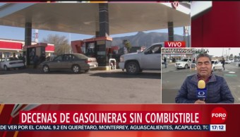 Gasolineras En Saltillo Tienen Filas 3 K Vehículos Espera