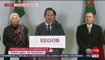 Gobernador de Querétaro: Abasto de gasolina es total