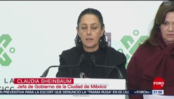 Gobierno capitalino apoya a afectados por explosión en Hidalgo