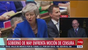 Gobierno de May enfrenta moción de censura