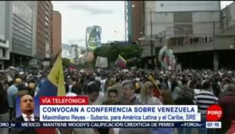 Gobierno de México y Uruguay convocan a conferencia sobre Venezuela