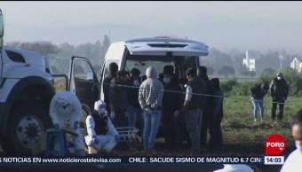 Harán pruebas de ADN para identificar a víctimas en Hidalgo