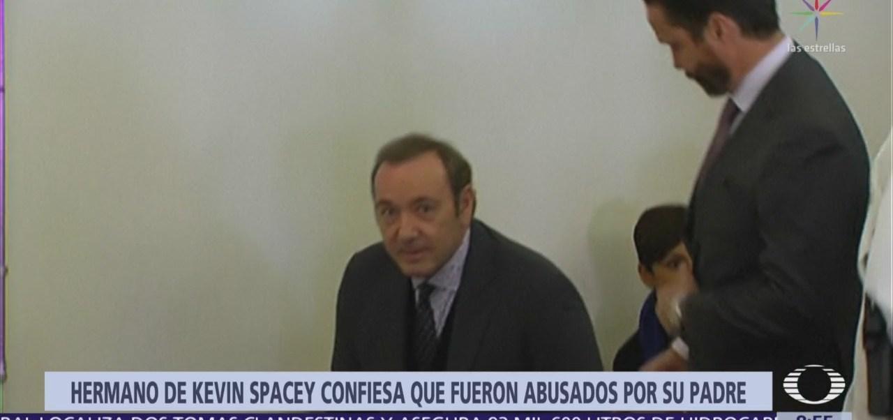Hermano de Kevin Spacey revela que su padre abusó de ellos