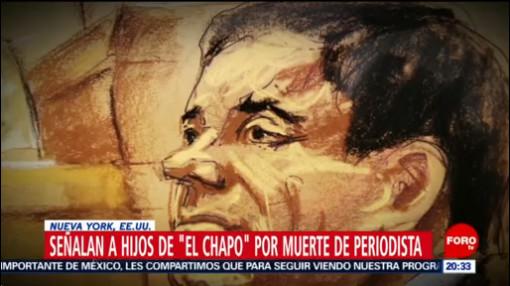 Foto: Hijos Chapo Ordenaron Asesinato Periodista Javier Valdez, 23 de enero 2019