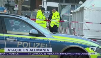 Hombre con enfermedad mental atropella a 5 personas en Alemania
