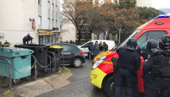 Foto: Hombre se atrinchera en vivienda de Córcega, Francia, tras atacar a tiros a transeúntes. 30 de enero de 2019, Córcega, Francia
