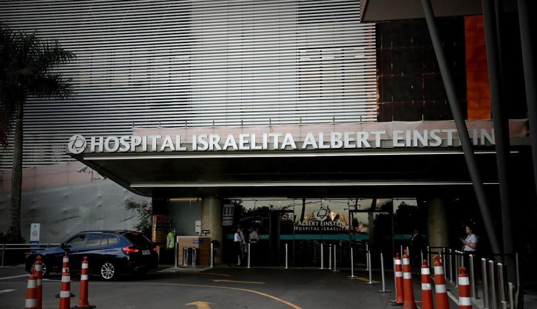 El presidente de Brasil, Jair Bolsonaro, ingresó a un hospital de Sao Paulo de cara a la cirugía a la que será sometido, 27 enero 2019