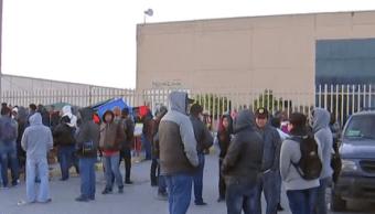 FOTO Bloqueos en Michoacán y huelgas en Matamoros acrecentan pérdidas Matamoros, Tamaulipas 30 enero 2019