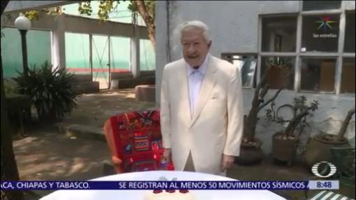 Ignacio López Tarso cumple 94 años de edad