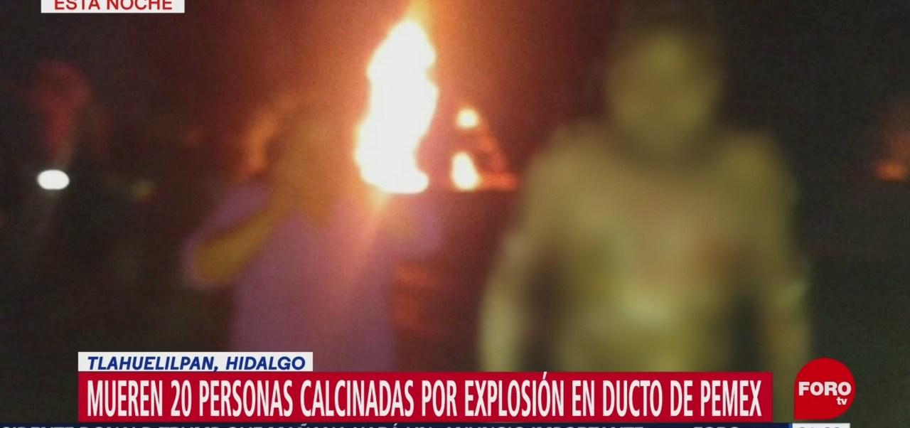 Imágenes Personas Quemadas Explosión Tlahuelilpan Hidalgo