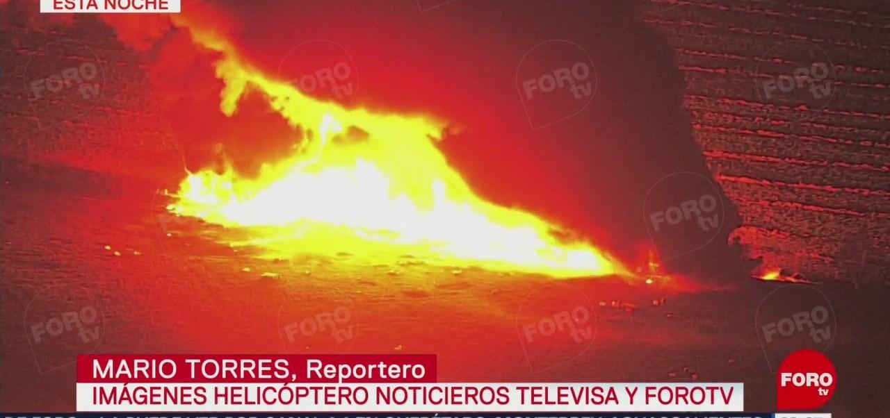 Imágenes Incendio Ducto Pemex Tlahuelilpan Hidalgo