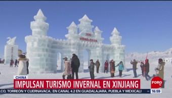 Impulsan turismo invernal en China