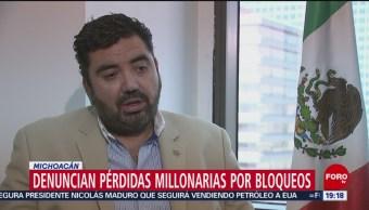 Foto: Industriales Empresarios Reportan Pérdidas Millonarias Bloqueos 25 de Enero 2019