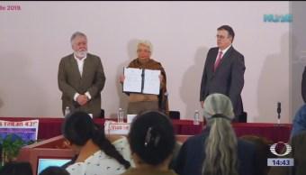 Instalan comisión de la verdad del caso Ayotzinapa