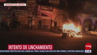 Intentan Linchar Presuntos Secuestradores Tepalcingo Morelos