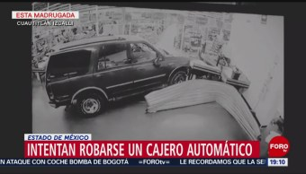 Intentan Robar Cajero Centro Comercial Cuautitlán Edomex