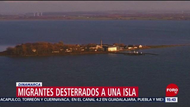 Isla danesa para migrantes con antecedentes penales