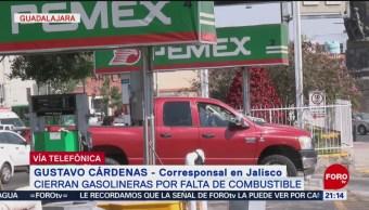 Jalisco Resiente Falta De Combustible Gasolina