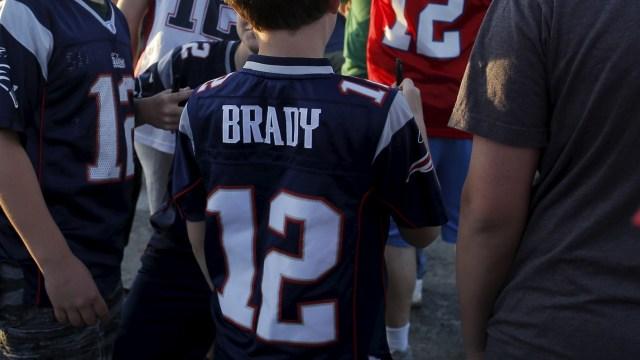 Foto: El jersey de los Patriotas de Nueva Inglaterra genera euforia, Estados Unidos, 30 de enero de 2019 (Archivo/Reuters)