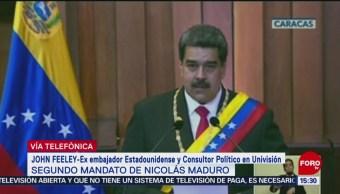 John Feeley habla del segundo mandato de Nicolás Maduro
