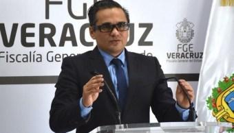 Foto: Jorge Winckler, fiscal de Veracruz, 21 de enero 2019