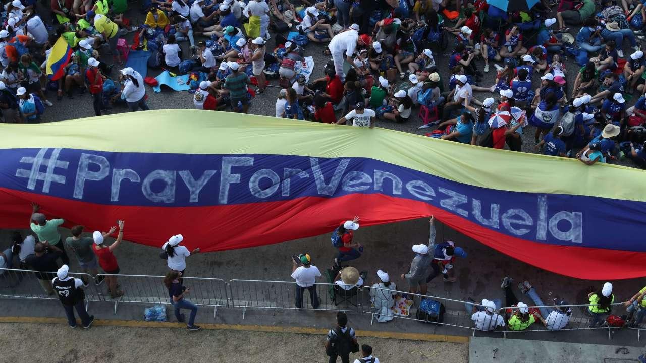 FOTO AMLO: México podría ser sede de diálogo para Venezuela / 24 enero 2019 Panamá