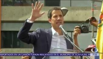 Juan Guaidó anunció que Venezuela tendrá relaciones diplomáticas con Estados Unidos